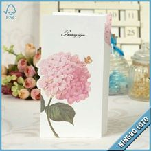 Offer Credit Different Shapes Greeting Cards Printing , Wholesale Greeting Cards