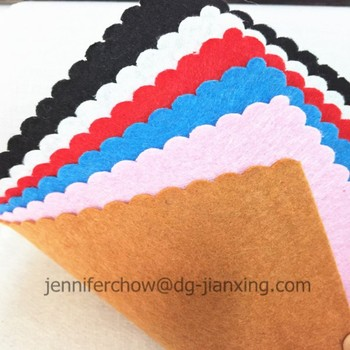 Non woven needle punched felt fabric for garment interlining Trade Assurance supplier