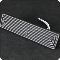 high performance black far infrared ceramic heating element plate