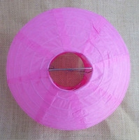 round Paper lantern, party decoration, wedding decoration, pink
