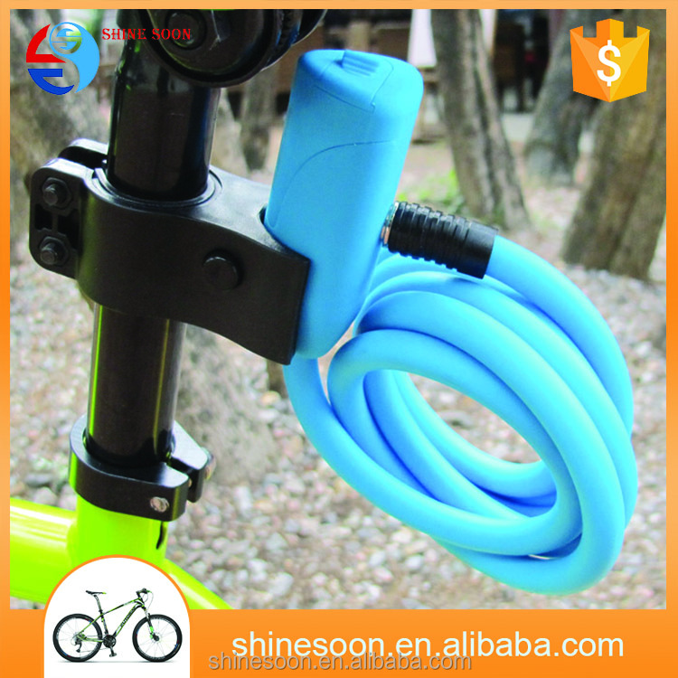 Dust proof cable bicycle locks with thick cable