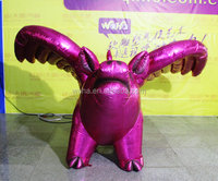 2015 Hot sale giant inflatable pig for advertising