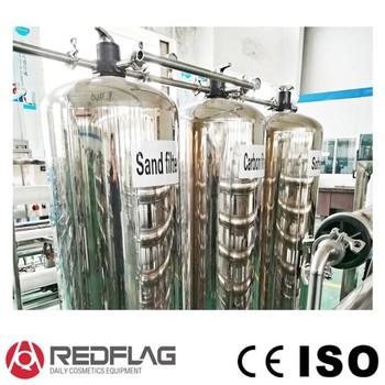 outdoor drinking water treatment equipment