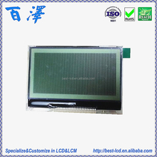 Featured 3.0V White LED Backlight 128*64 Dots FSTN Positive Transflective COG LCD Display Module For Data Scan & POS Machine