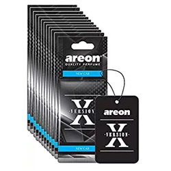 Areon X VERSION Design Hanging Car Air Freshener New Car Scent
