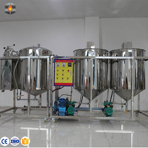 cooking oil refined plant/soybean oil refining equipment