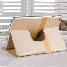 Chinese manufacturer leather cover for ipad 6 hot sale PU case