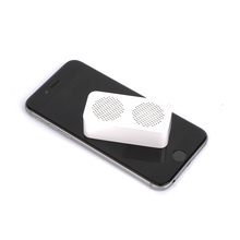 In stock original phone plastic rectangular remote control bluetooth speaker with handsfree