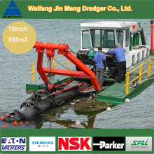Small River Sand/Mud Dredger Boat hot sale