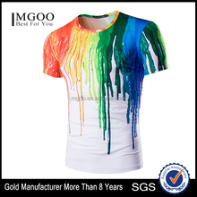 Digital Sublimation Print Abstract T-shirt Unisex Casual 3D Custom Design T Shirt for Men Women Tee Shirt