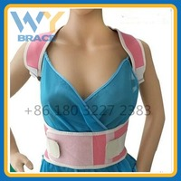 Medical-Grade Adjustable Magnetic Posture Support Back Brace - Relieves Neck, Back and Spine Pain - Improves Posture