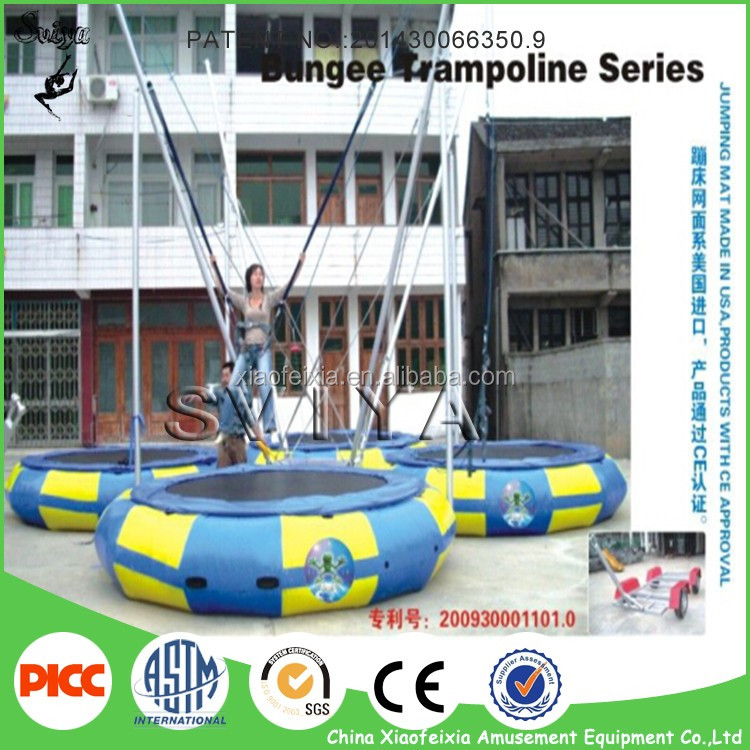 Best Sale Fashion Design Outdoor Bungee Trampoline With Elastic Cord