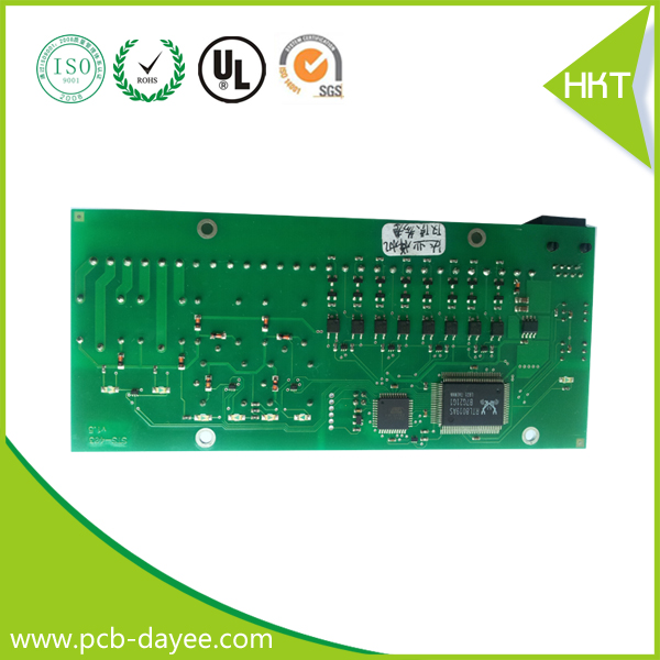 2015 china green solder pcb assembly for tv motherboard