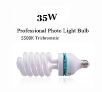 dison 35w 5500k studio tricolor bulb for photography light supplies