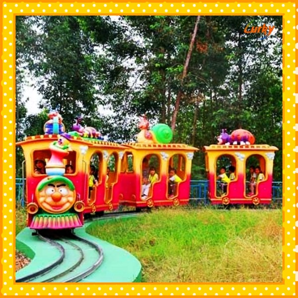 happy journey track train for theme park