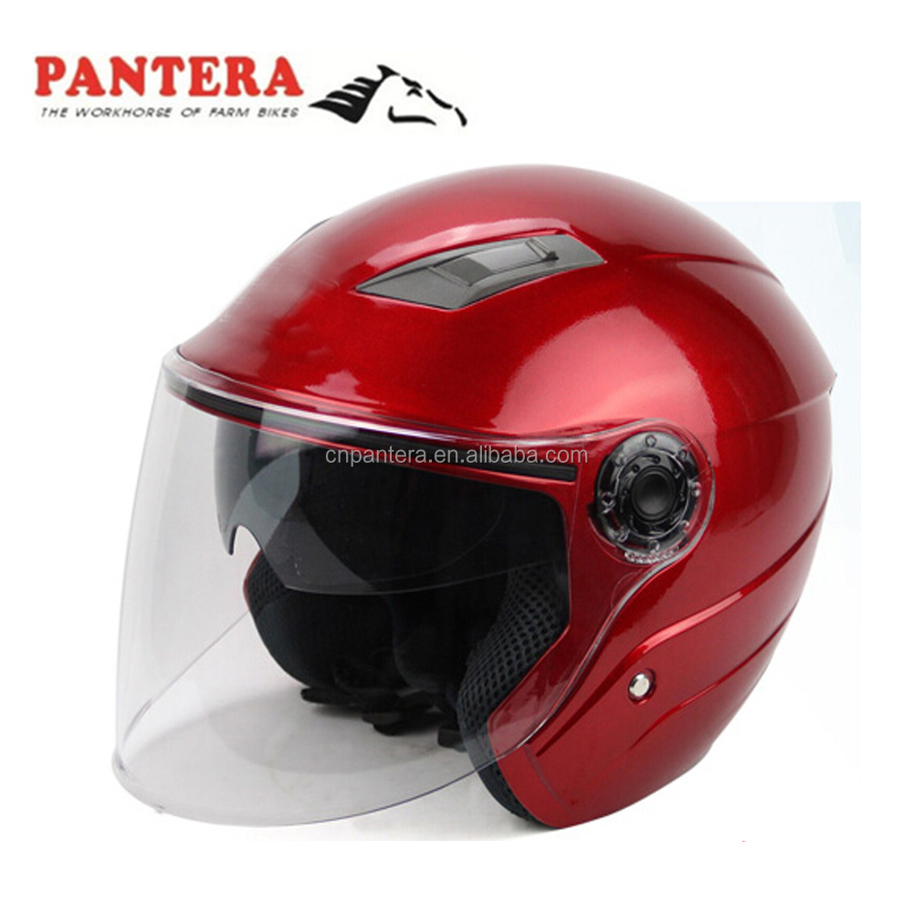 Japan style black retro Cheap Helmets open face motorcycle motor helmet