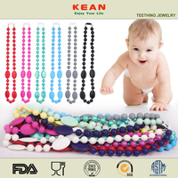 No-Toxic Food Grade Silicone Jewelry Teething for Baby