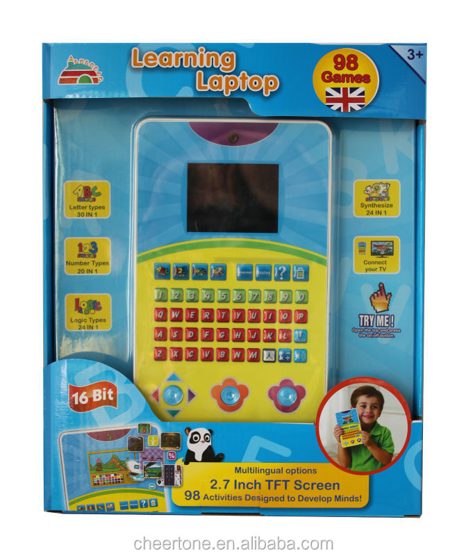kids laptop learning pad for kid children learning english