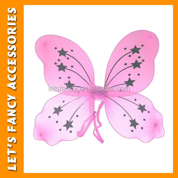 PGW0033 Cheap pink Butterfly Fairy Wing Carnival Costume Butterfly Wing