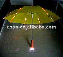 Colorful Flash LED Umbrella with Torch