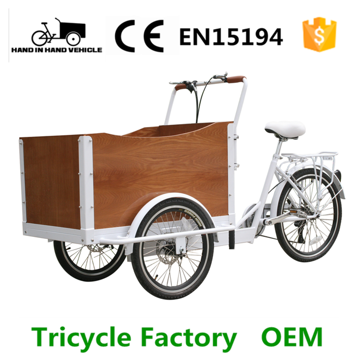 electric cargo tricycle with cooler box for sale