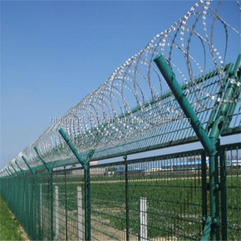 Knitted Wire Mesh PVC coated Fence
