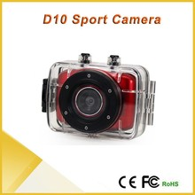HD 720P 2.0 inch Cheapest Action Sport Diving Camera for Bike, Camera Underwater