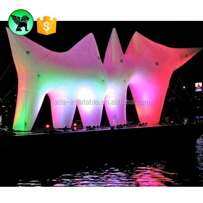 Outdoor park led light art inflatable model for holiday event decoration ST632