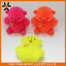 Hot sales fashion TPR bear shape soft toys for sale