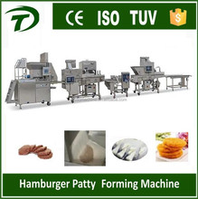 automatic beef burge forming patty making machine