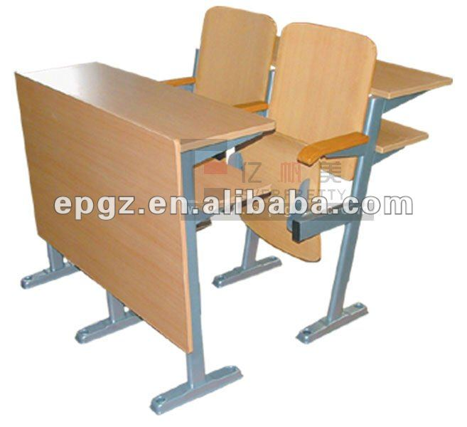 Wooden School Foldable Desk & chair,Step Desk and chair,University Desk and chair,Wooden Desk and chair,Metal desk & chair