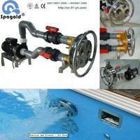 Swimming pool counterflow jet swim/Counter Current Jet Swim/gym device