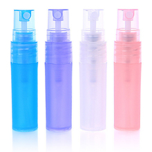 pocket mini recycled refillable atomizer frosted pen perfume plastic spray bottle 5ml