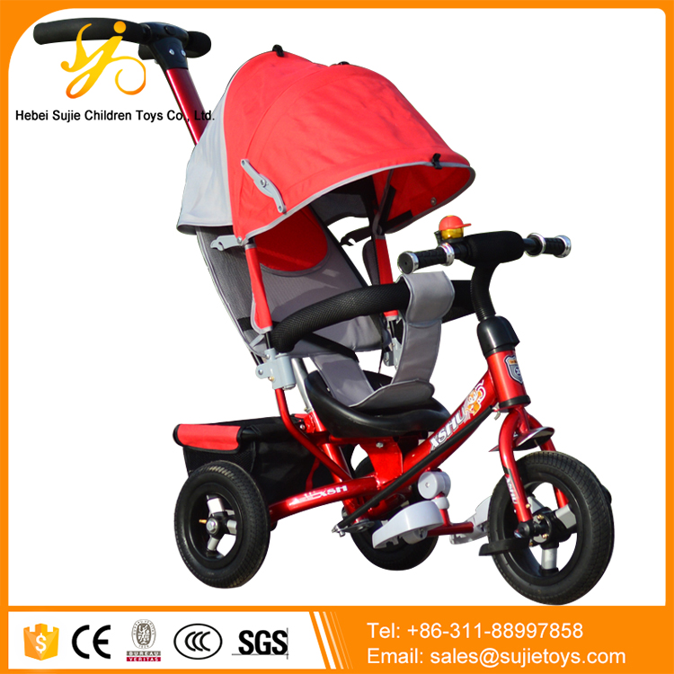 4 in 1 Trike Baby Folding Tricycle Smart Trike / Push Baby Tricycle Triciclo