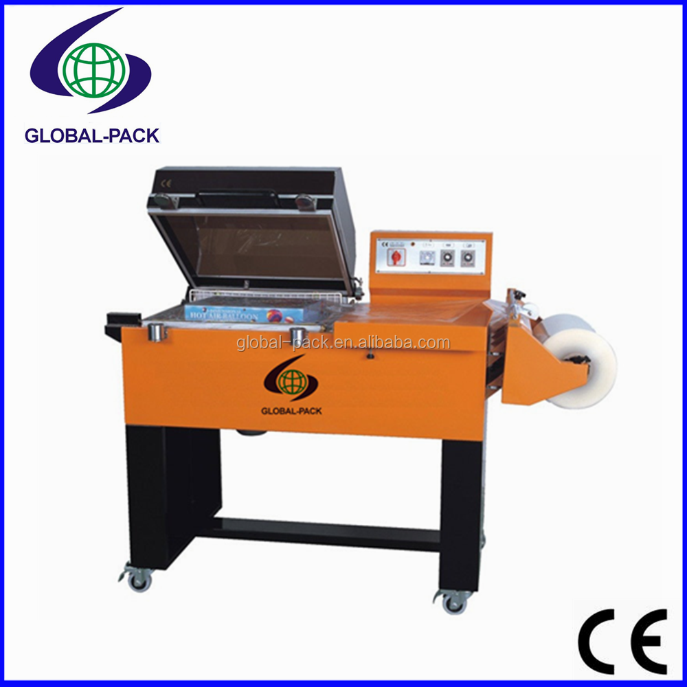 GP-5540 Sealing and Shrinking Packing machine for chemical food hardware packaging