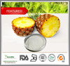 100% Natural Pineapple bromelain, Pineapple extract bromelain enzyme, 3500gdu bromelain powder