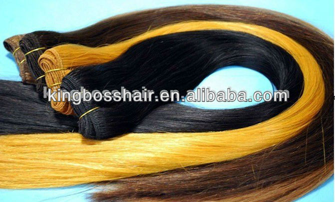 Hot sale curly human hair extension100 human hair blonde