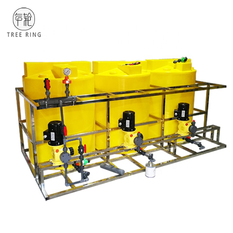 Customized New Effluent Treatment Plant Plastic automatic chlorine dosing <strong>system</strong> With Pump for Sewage Treatment