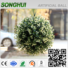 2016 decorative hanging artificial topiary grass ball for home garden