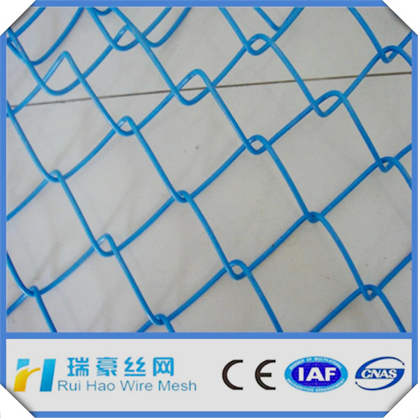 china factory pvc coated chain link fence price
