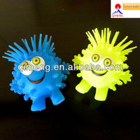 EN71/CE/Rohs/ASTM standard eco-friendly material flashing light puffer ball toys for kids