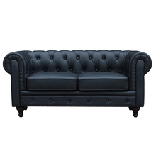 Wholesale market home small 2 seater leather couches sofa for sale