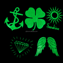 glow in the dark body tattoo sticker