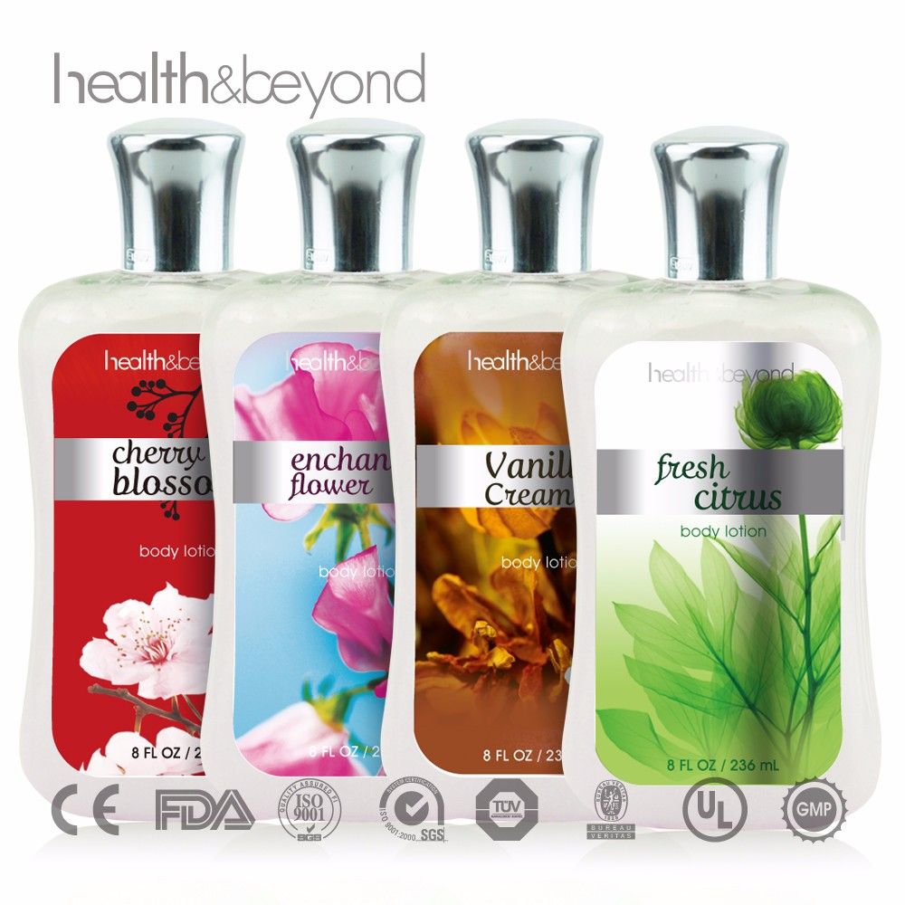 2017 FDA Factory OEM/ODM wholesale bath and body works lotions name brand moisturizing body skin whitening lotion