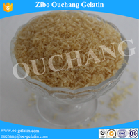 industry gelatin powder color is brown applied to binding agent .cattle bone gelatin