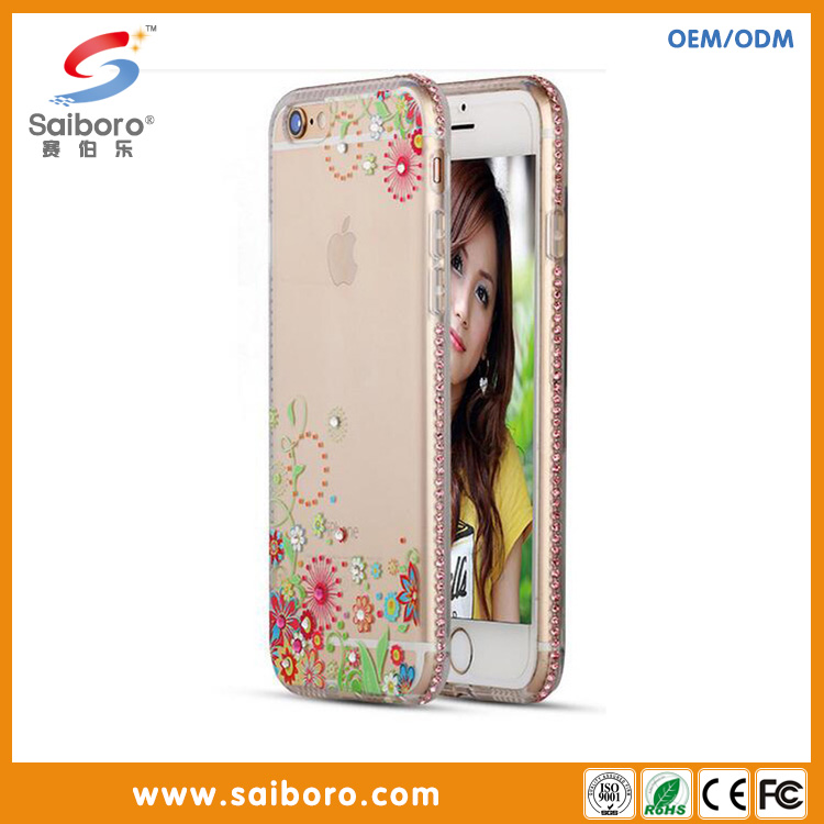 Newest TPU soft mobile phone covers for iphone5/5s with UV printing from phone cases factory