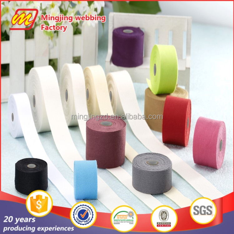 High quality customized cotton label tape