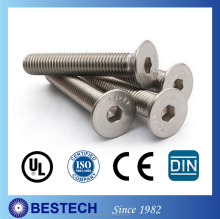 DIN7991 Hexagon Recess Drivers Socket Cap Screw Professional Taiwan Supplier with Competitive Price