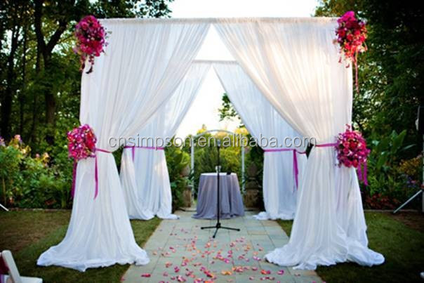 Backdrop Decoration Aluminum Cheap Pipe And Drape Alternatives