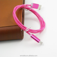 Top Selling Products in Alibaba Colored Led Micro USB Cable